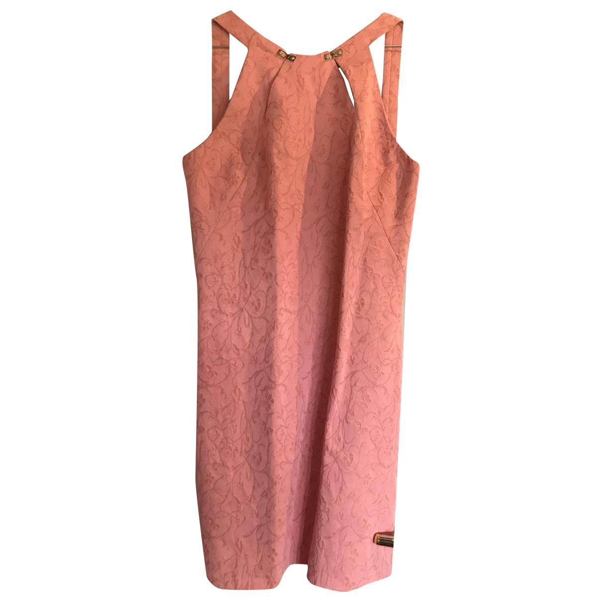 Versace Jeans \N Kleid in  Rosa Baumwolle