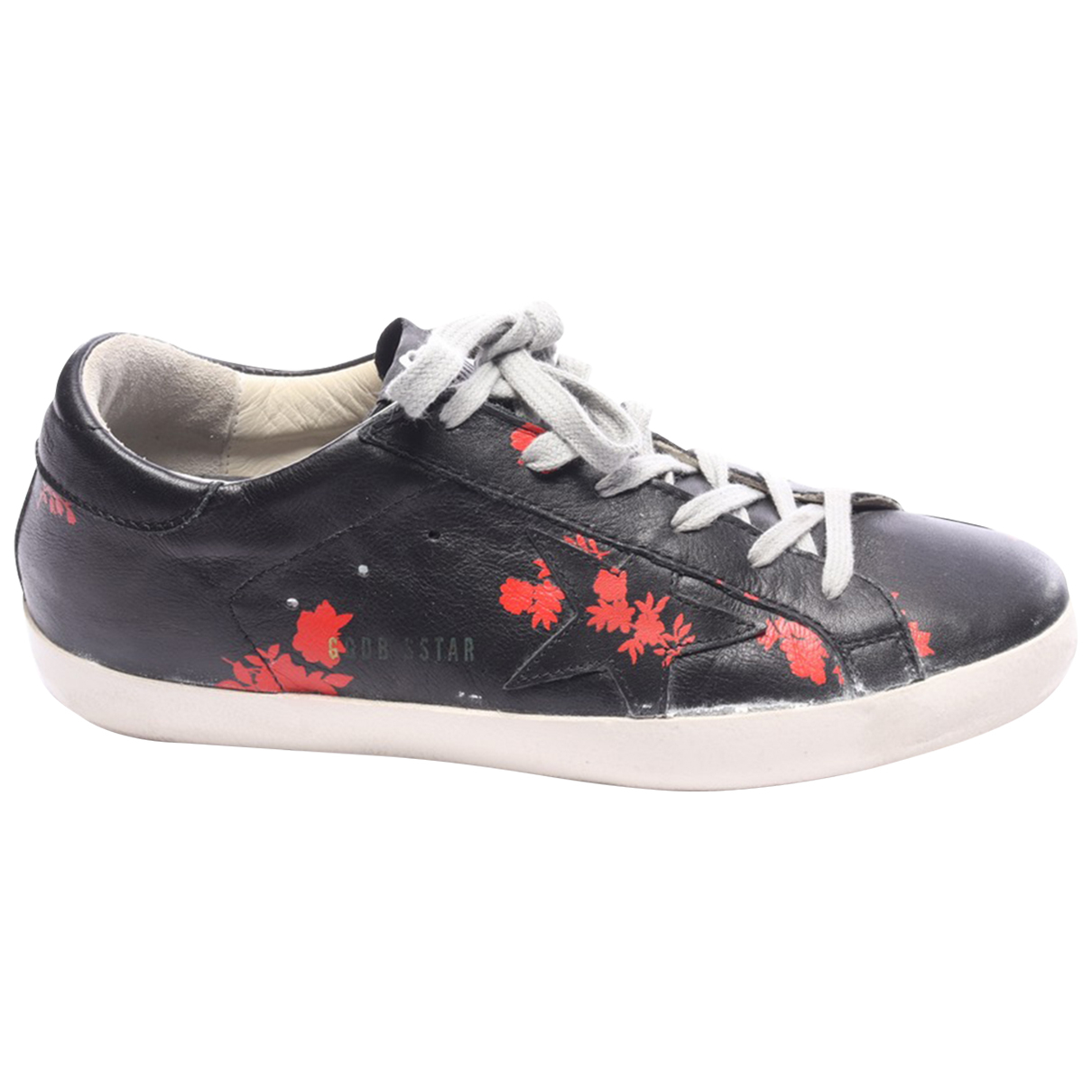 Golden Goose \N Sneakers in  Schwarz Leder