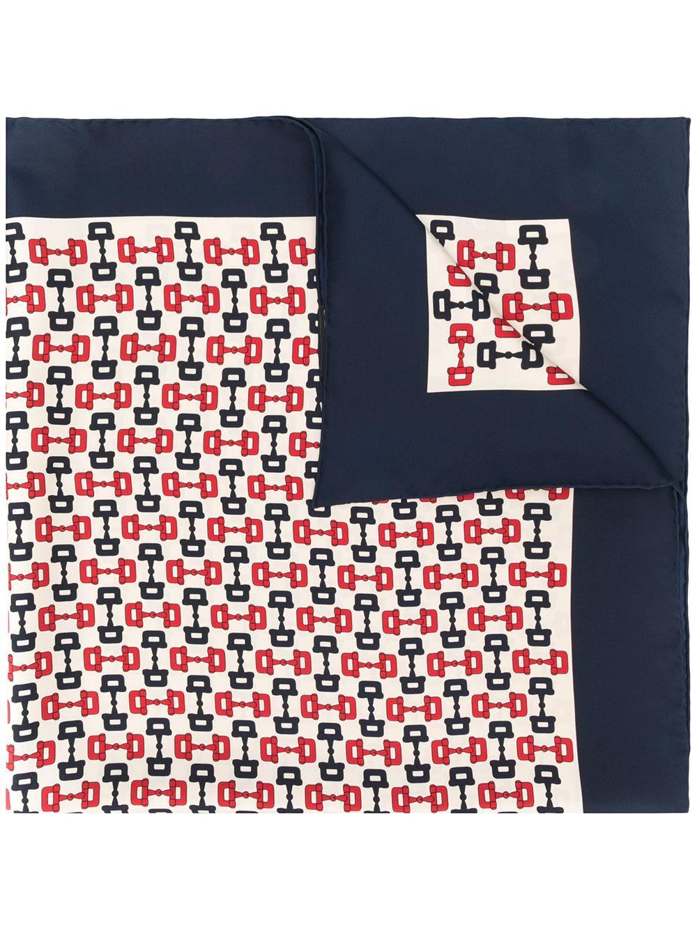 Heritage Print Silk Foulard