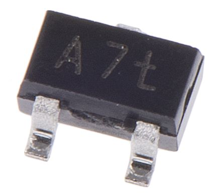 Nexperia 100V 150mA, Dual Silicon Junction Diode, 3-Pin SOT-323 BAV99W,115 (10)