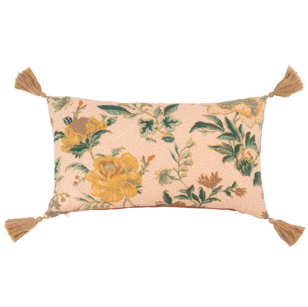 Kissenbezug aus Baumwolle mit Motiven, rosa, 30x50