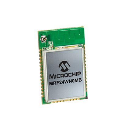 Microchip MRF24WN0MB-I/RM100 3.15 → 3.45V WiFi Module, 802.11b/g/n SPI