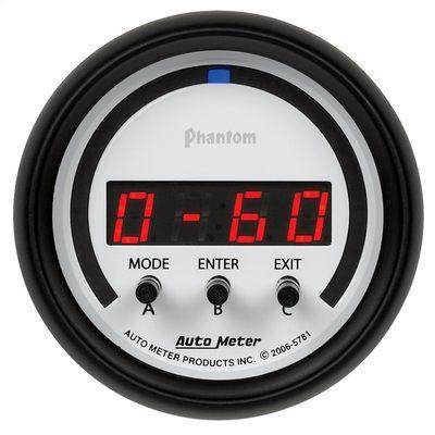 Auto Meter Phantom Digital D-PIC Gauge - AMG5781