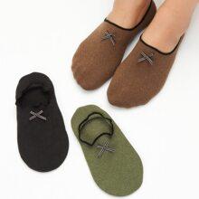 3 pares calcetines con lazo
