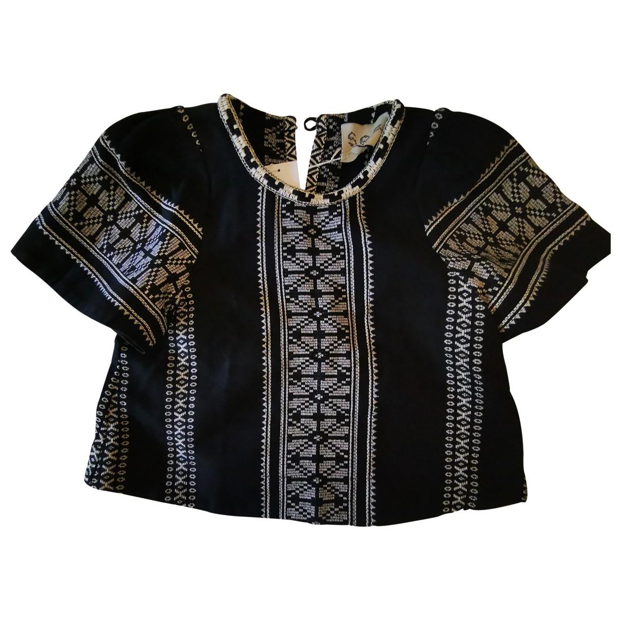 Sea New York - Top   pour femme en coton - noir