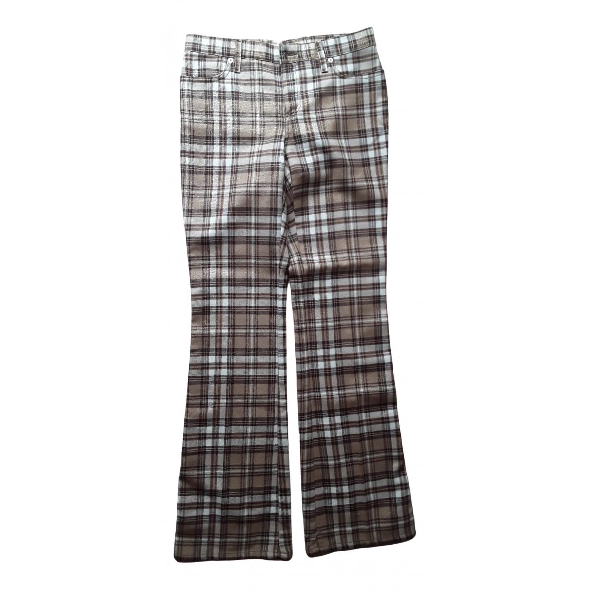 Pantalon de Lana Moschino