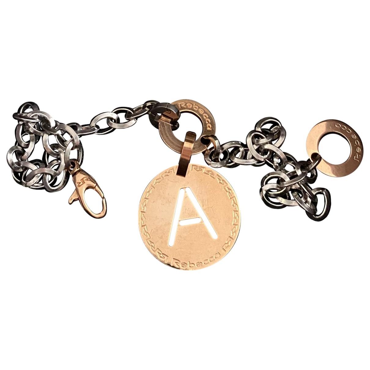 Rebecca - Bracelet   pour femme en acier - argente