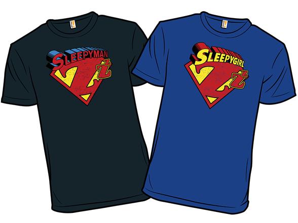 Sleepyman & Sleepygirl T Shirt
