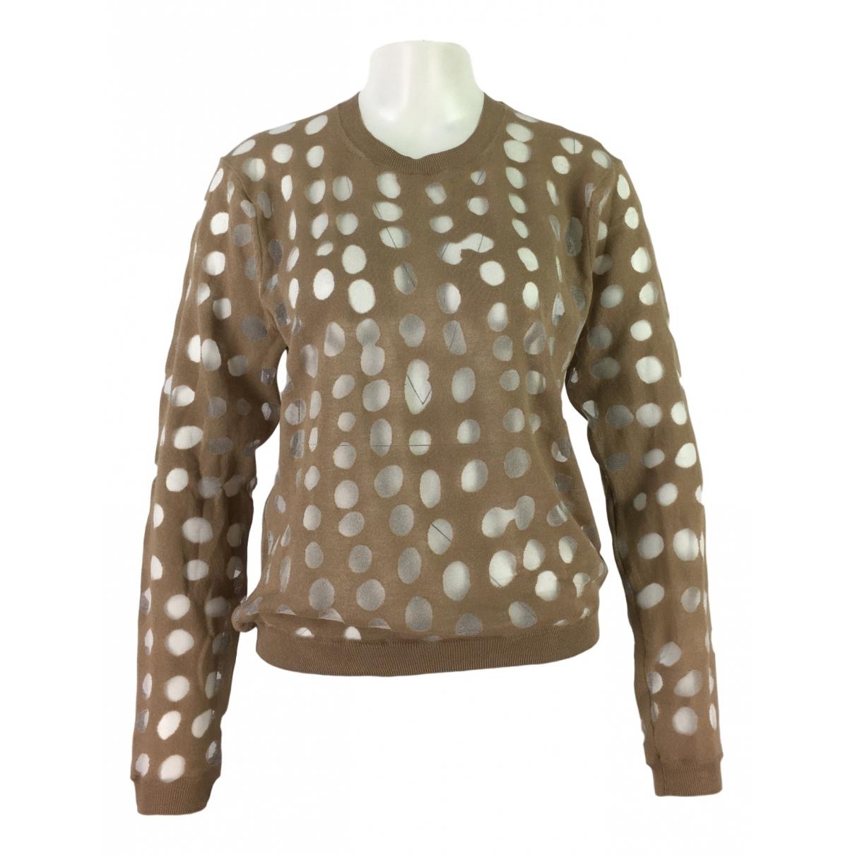 Acne Studios \N Beige Cotton Knitwear for Women S International