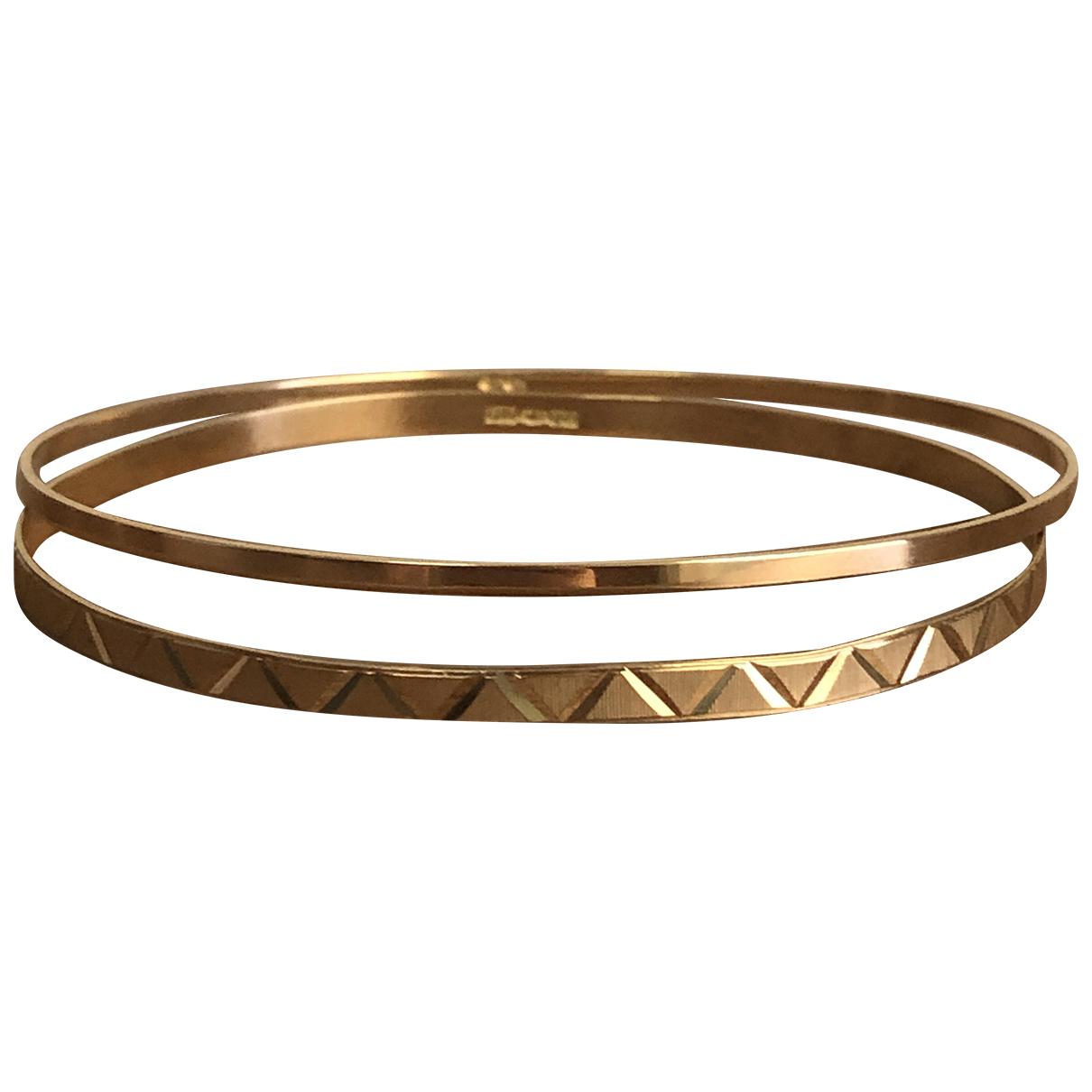 - Bracelet Jonc pour femme en or jaune - dore