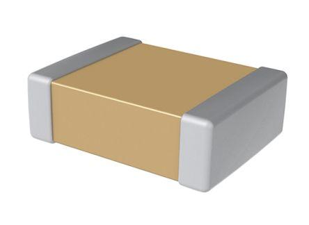 KEMET 0402 (1005M) 100nF Multilayer Ceramic Capacitor MLCC 25V dc ±10% SMD C0402C104K3PACTU (10000)