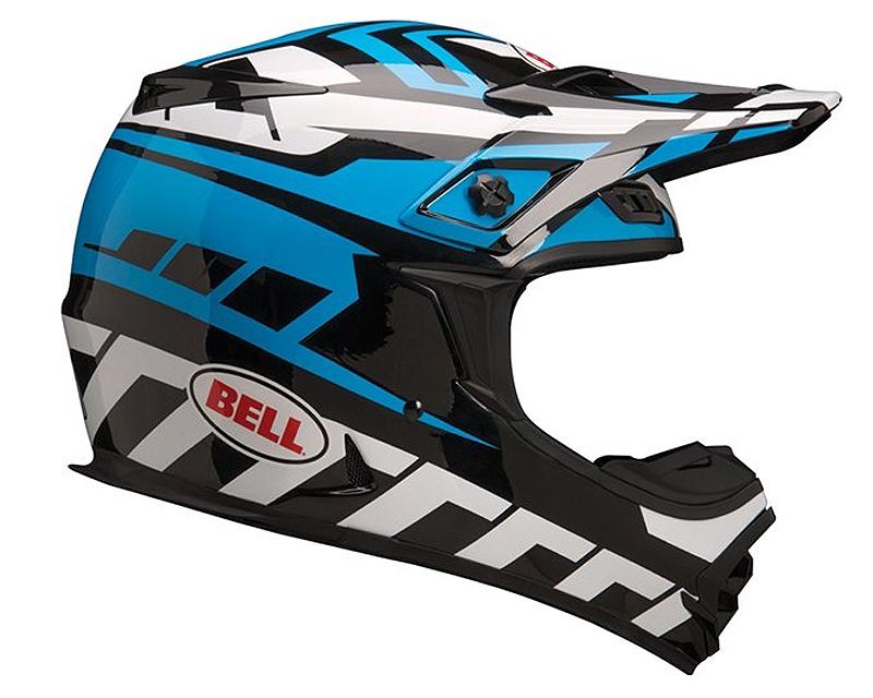 Bell Racing 7028397 MX-2 Quantum Blue Helmet MD | 57-58