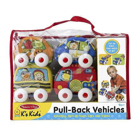 Melissa & Doug Pull-Back Vehicles, One Size , Multiple Colors