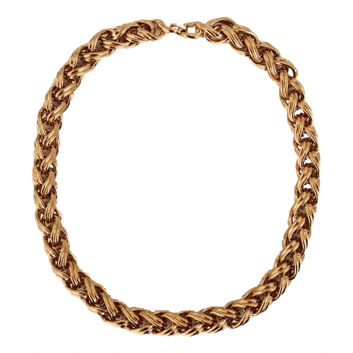 Non Signe / Unsigned \N Kette in  Gold Metall