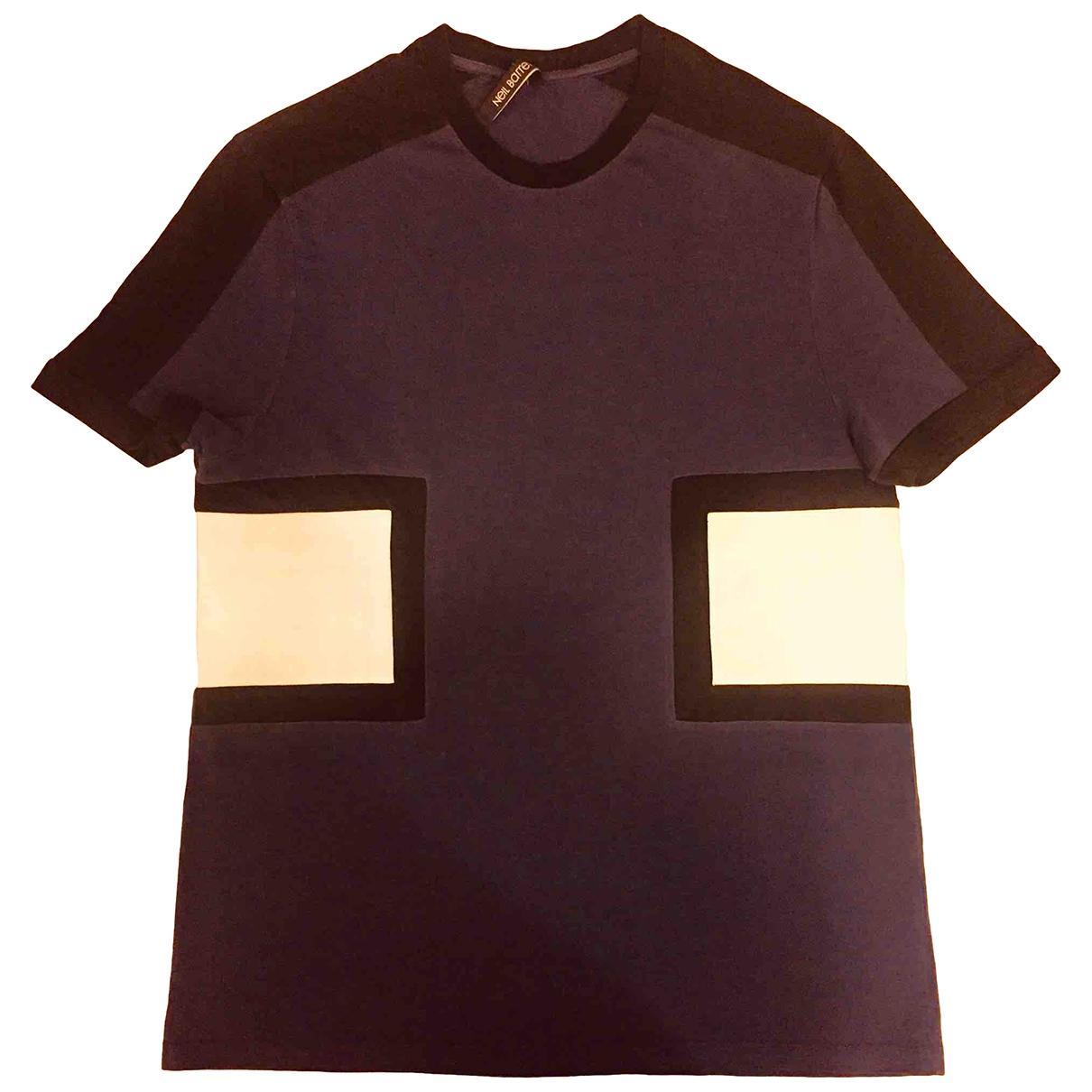 Neil Barrett \N Navy Cotton T-shirts for Men S International