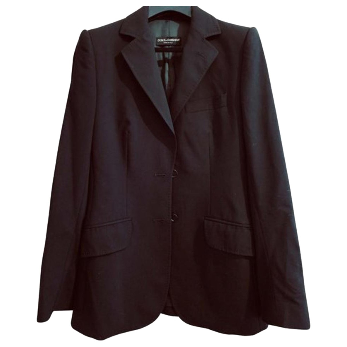 Dolce & Gabbana \N Anthracite Wool jacket for Women 42 IT