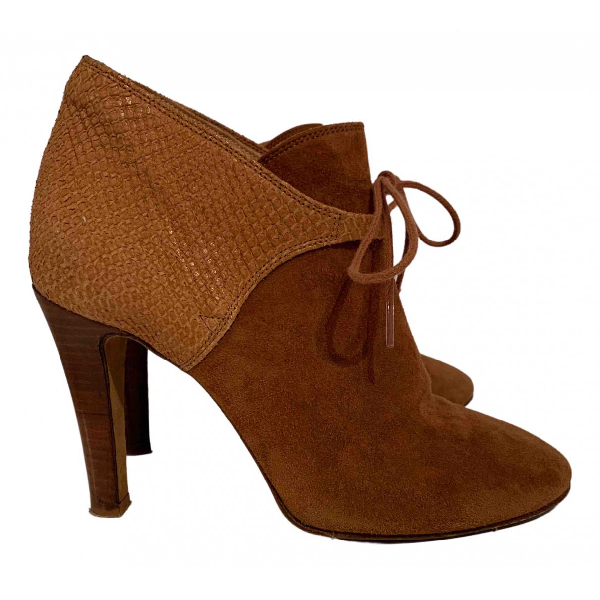 Sézane N Suede Boots for Women 37 EU