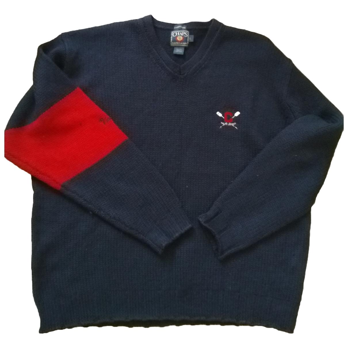 Ralph Lauren \N Pullover.Westen.Sweatshirts  in  Blau Wolle