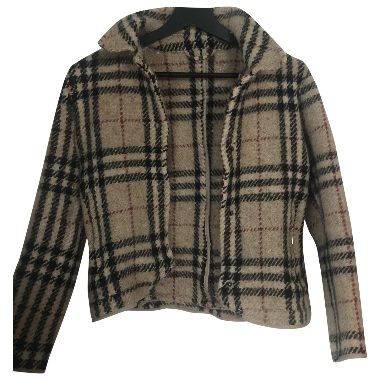 Burberry - Veste   pour femme en laine - beige