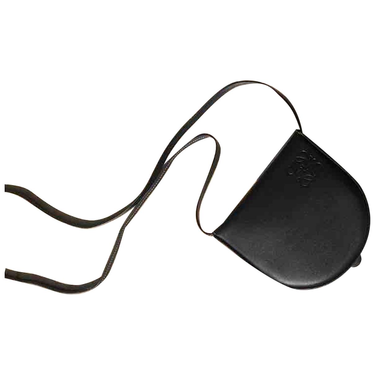 Loewe - Petite maroquinerie   pour femme en cuir - noir