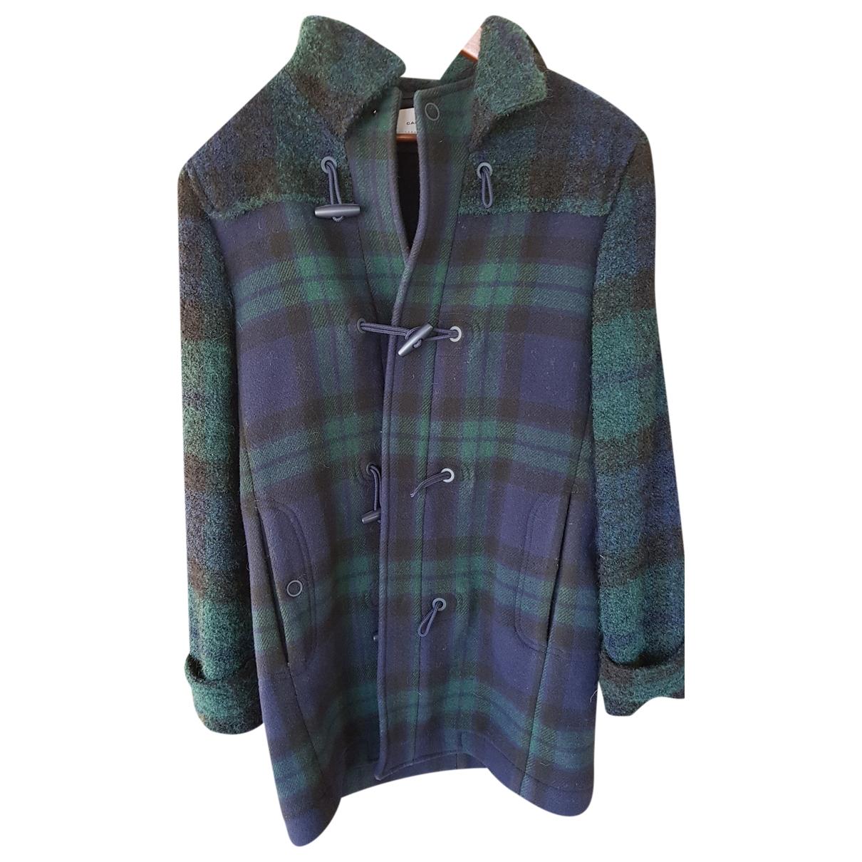 Carven - Manteau   pour homme en laine - multicolore