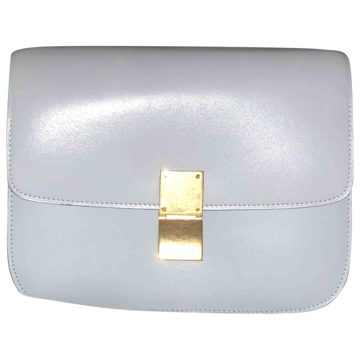Celine Classic Blue Leather handbag for Women \N