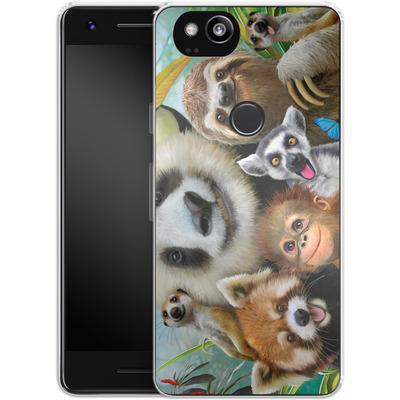 Google Pixel 2 Silikon Handyhuelle - Zoo Selfie von Howard Robinson