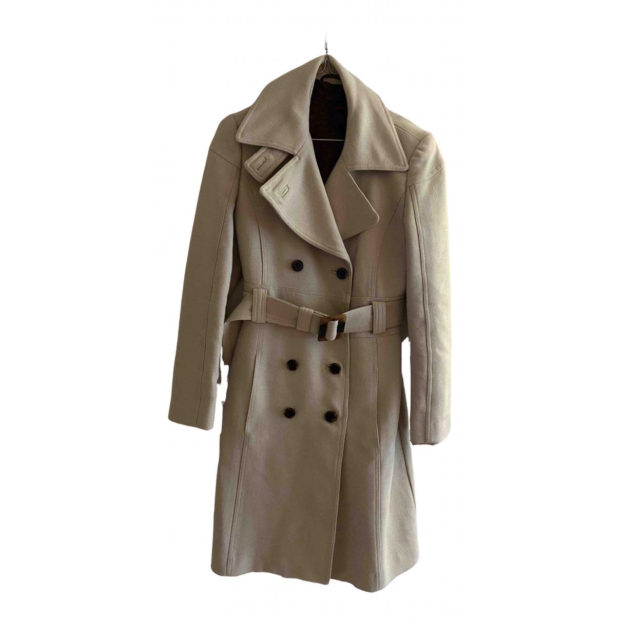 Pierre Cardin - Manteau   pour femme en coton - beige