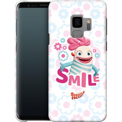 Samsung Galaxy S9 Smartphone Huelle - Sorgenfresser Smile von Sorgenfresser