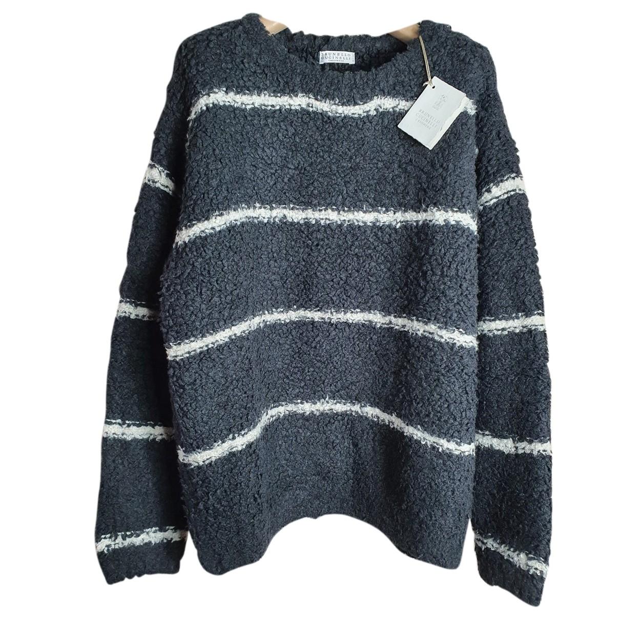 Brunello Cucinelli N Black Cashmere Knitwear for Women M International