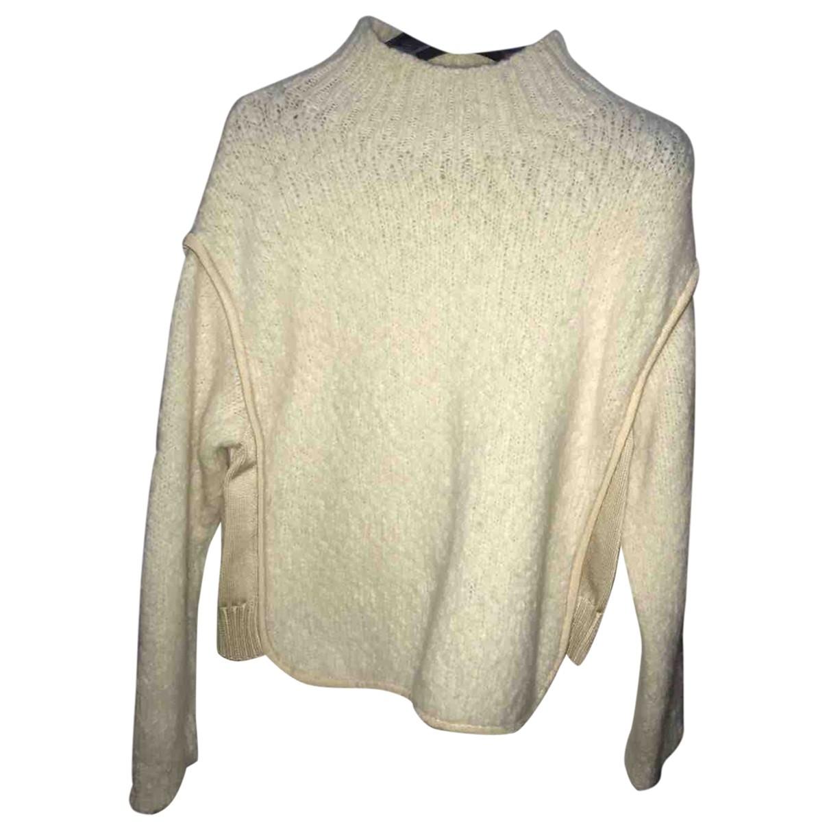 Sport Max - Pull   pour femme en laine - blanc