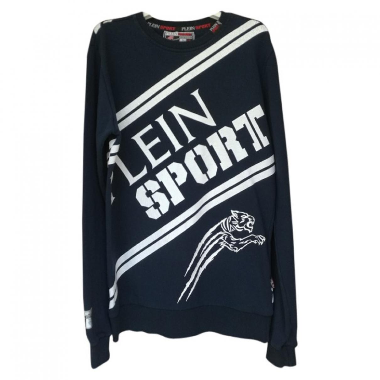 Philipp Plein \N Pullover.Westen.Sweatshirts  in  Marine Baumwolle