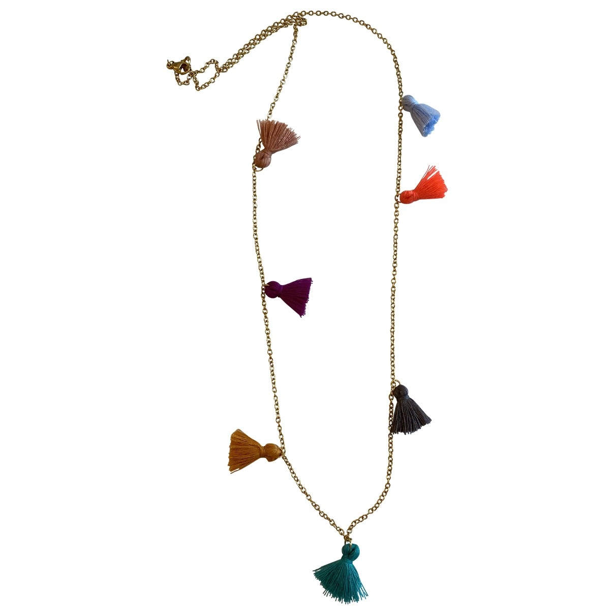 Non Signé / Unsigned \N Multicolour Steel necklace for Women \N