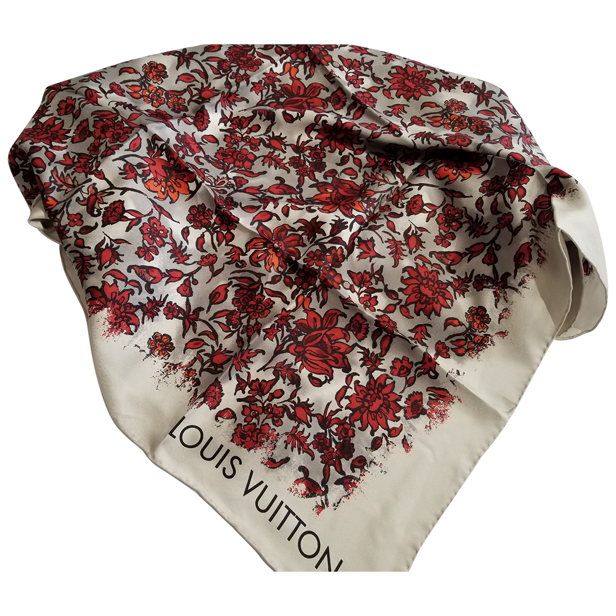 Louis Vuitton N Multicolour Silk scarf for Women N