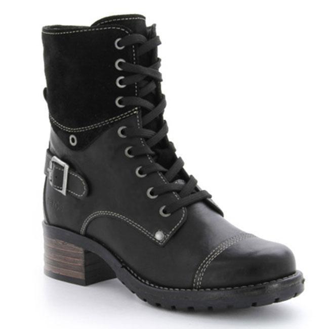Taos Crave Black Leather 38