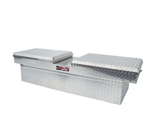 Westin Automotive 80-RB153GW Brute Pro-Series Tool Box Aluminum Gull Wing Lid Full Size Step Side and Down Size Shallow Depth