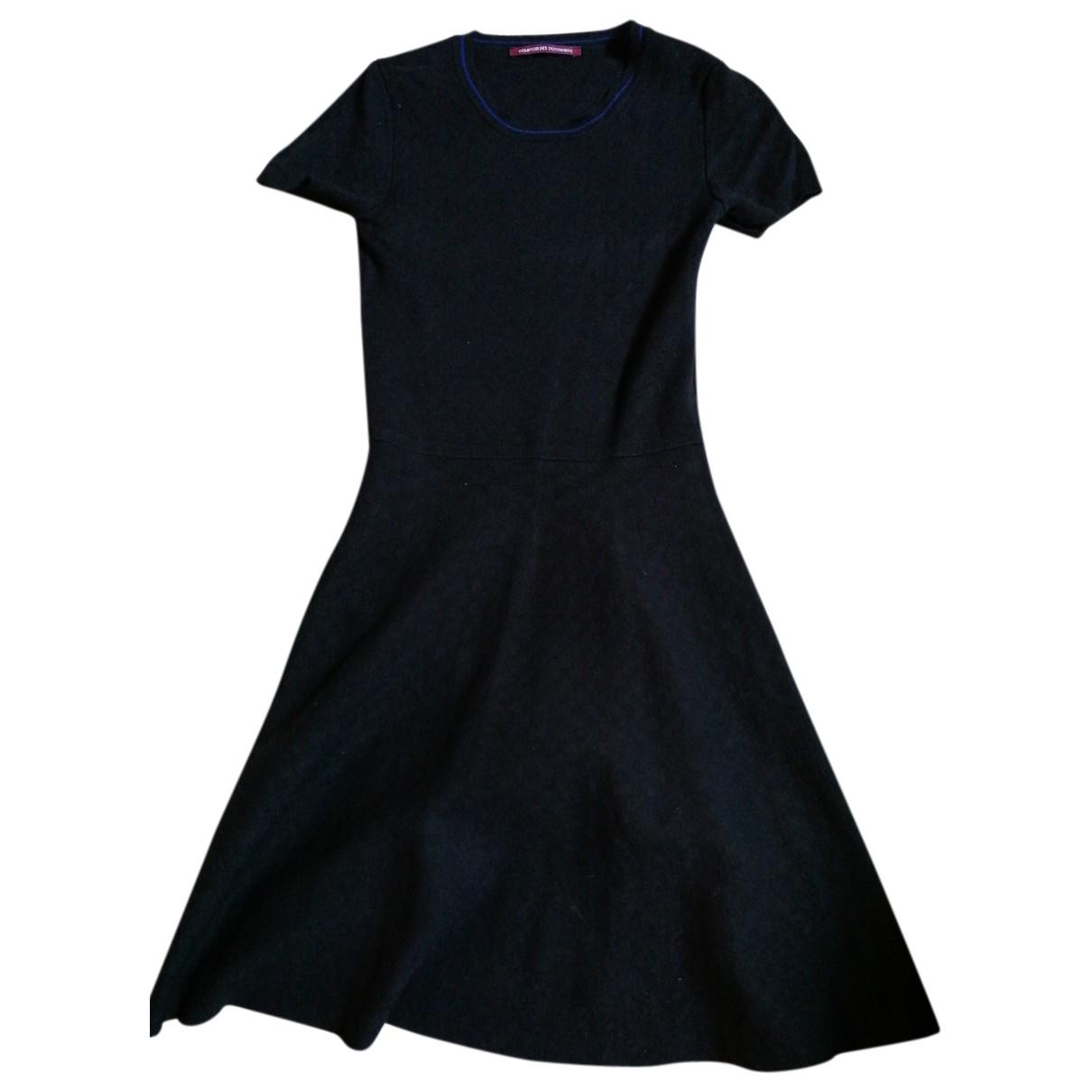 Comptoir Des Cotonniers \N Kleid in  Schwarz Viskose