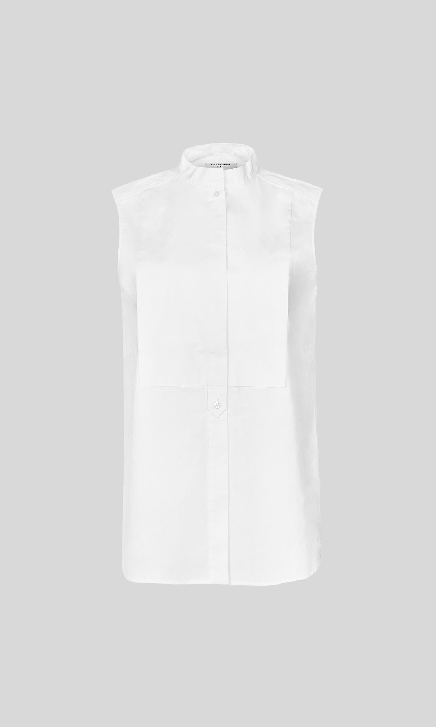 Sleeveless Beale Shirt by Equipment