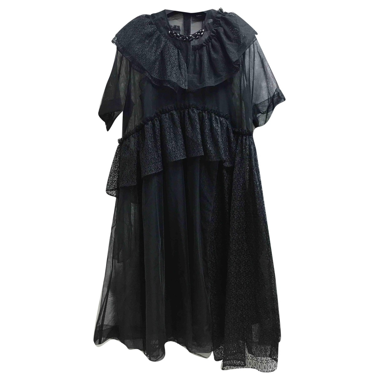 Simone Rocha \N Kleid in  Schwarz Polyester