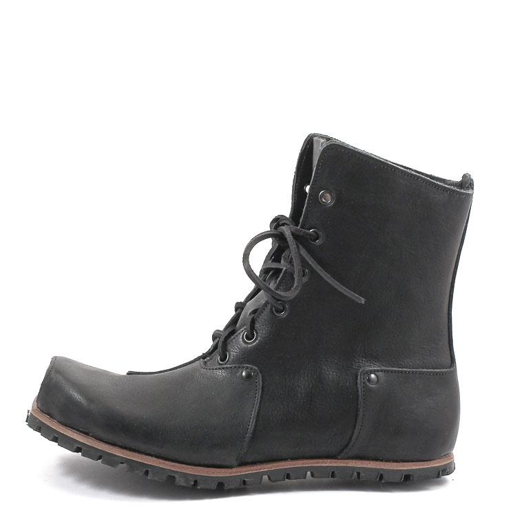 CYDWOQ, Grinder Men's Lace-up Bootees, black Größe 46