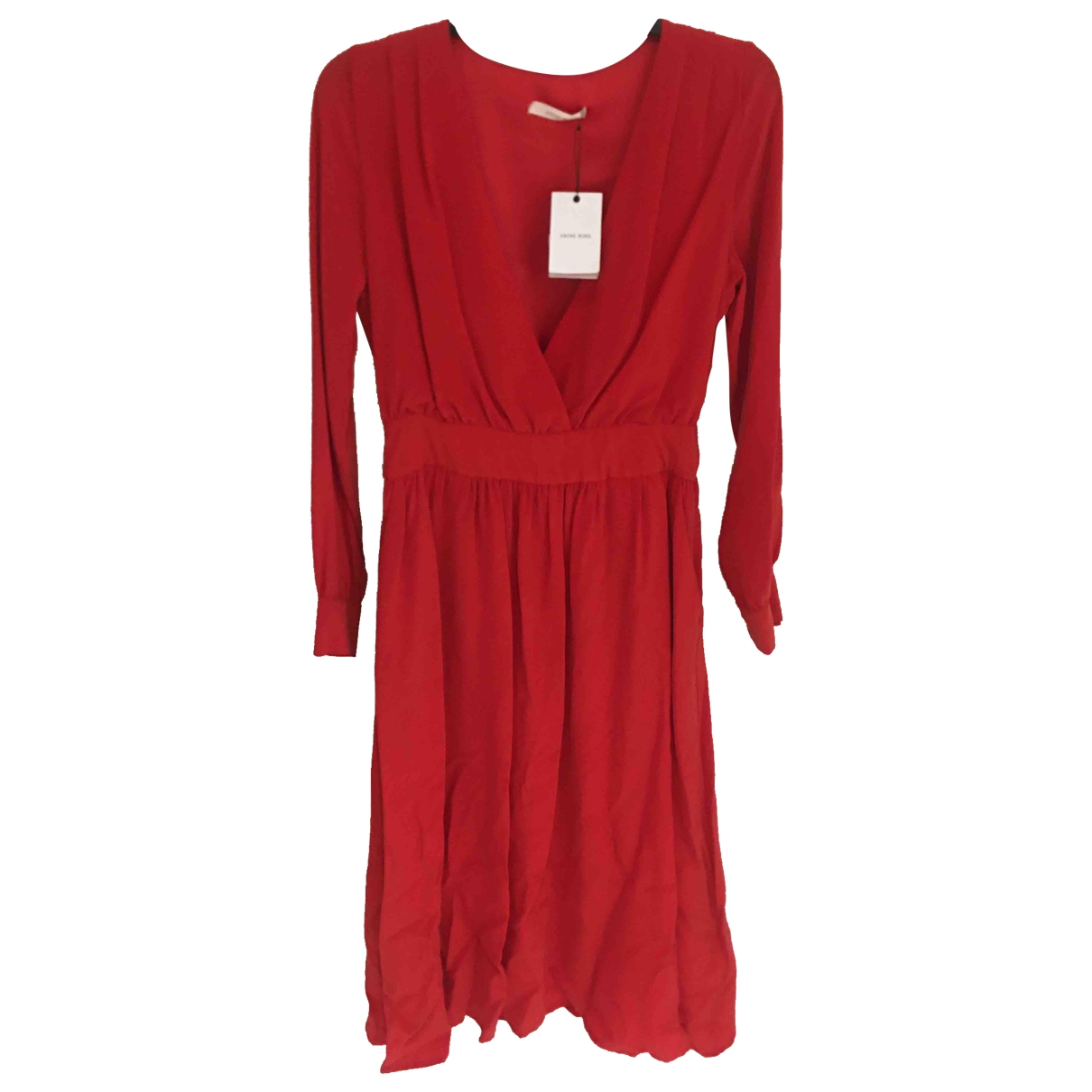 Anine Bing \N Red Silk dress for Women M International