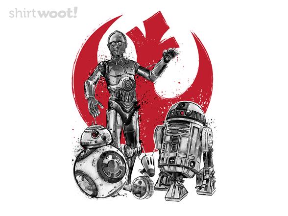 Rebel Droids T Shirt