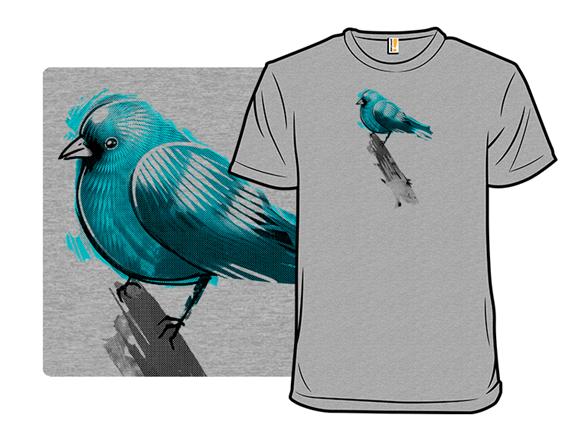 Blue Birdie T Shirt