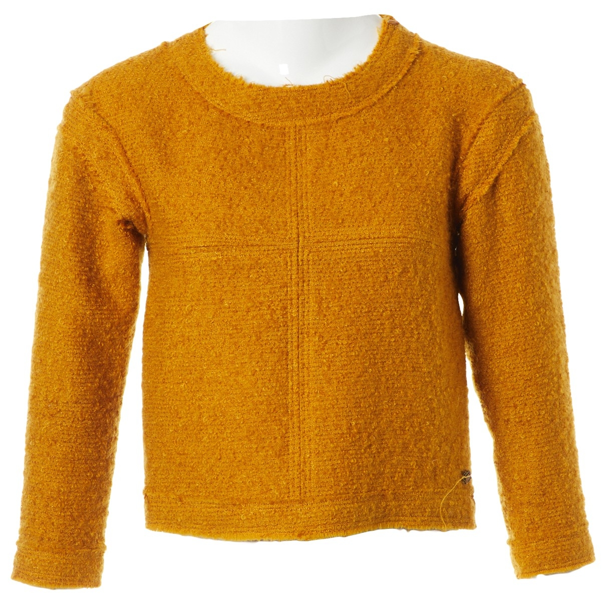 Chanel \N Pullover in  Gelb Wolle