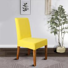 1 Stueck Einfarbiger Stuhlbezug