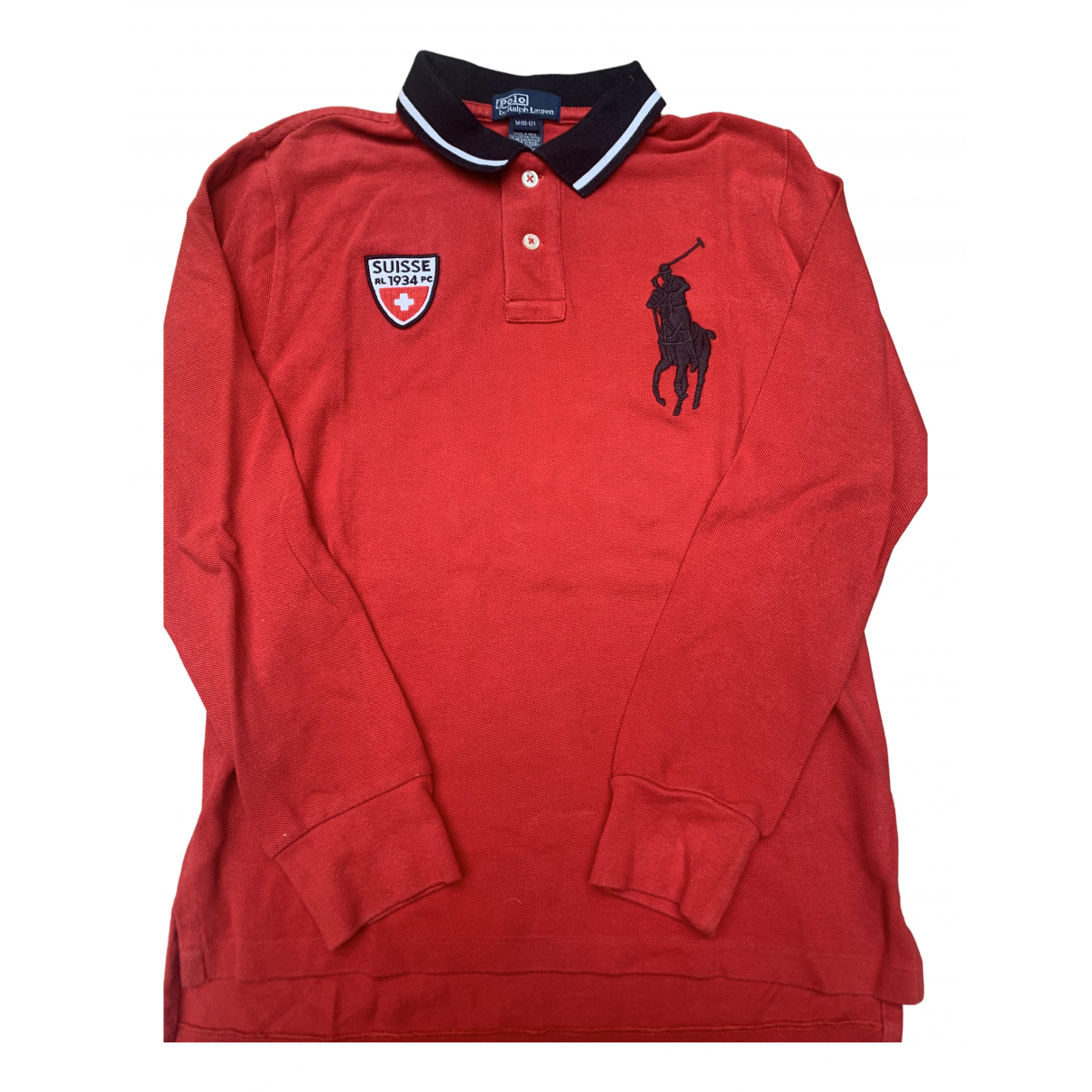 Polo Ralph Lauren \N Red Cotton  top for Kids 10 years - until 56 inches UK