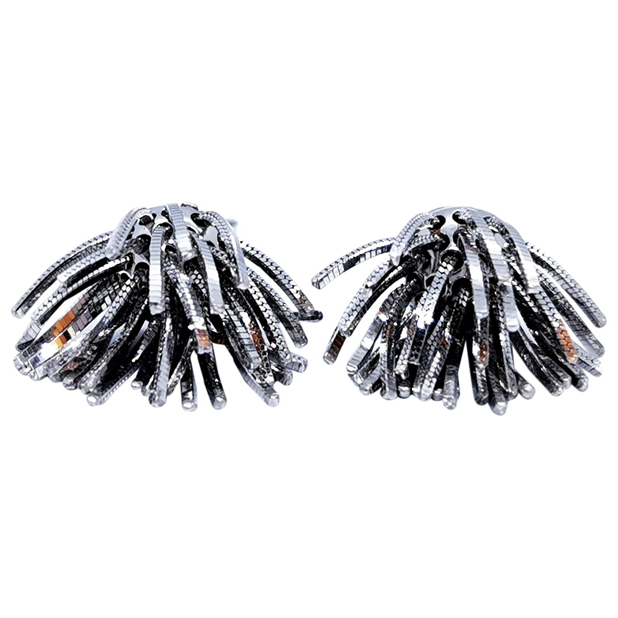 Autre Marque \N Silver White gold Earrings for Women \N