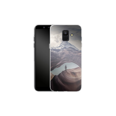 Samsung Galaxy A6 Silikon Handyhuelle - The Great Outdoors von Enkel Dika