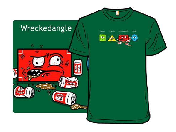 Wreckedangle T Shirt