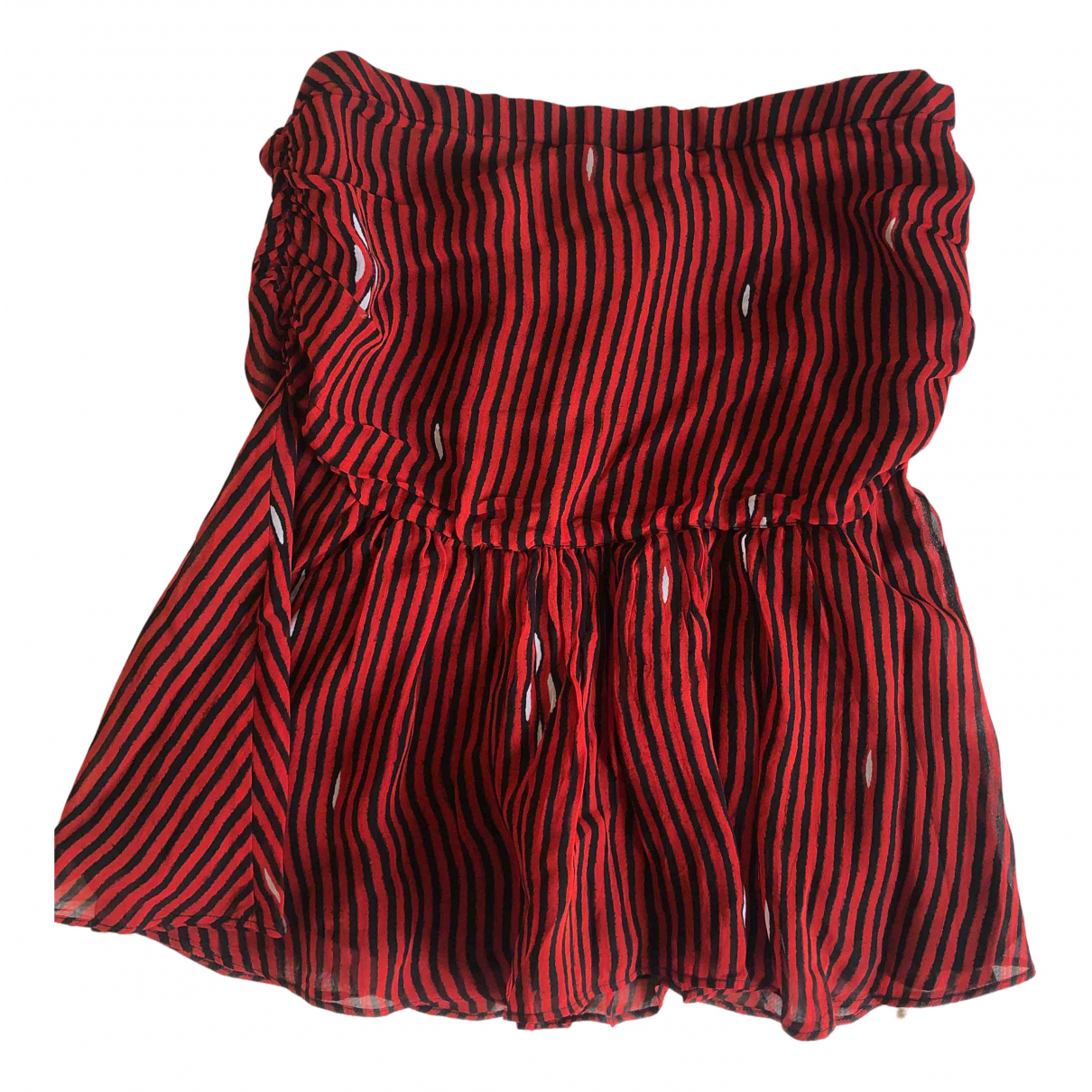 Isabel Marant Etoile - Jupe   pour femme - rouge